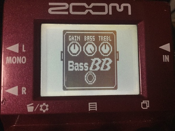 MS-60Bに搭載されたBass BB preamp