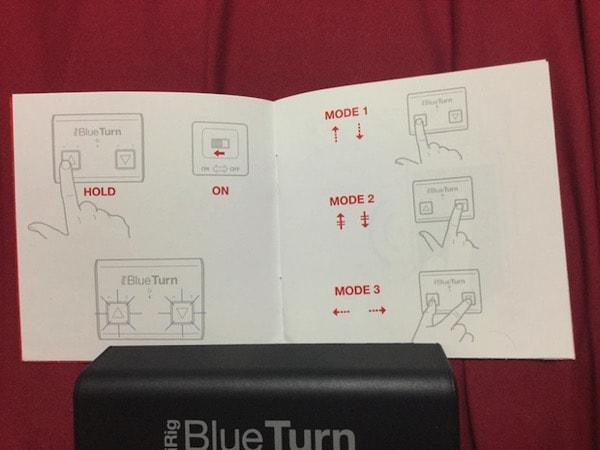 iRig BlueTurnの説明書
