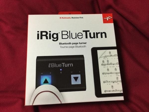 iRig BlueTurnのパッケージ