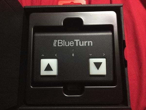 箱に入ったiRig BlueTurnの本体