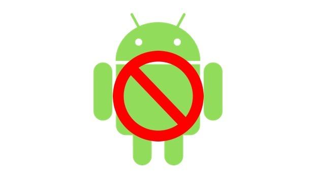 Android禁止