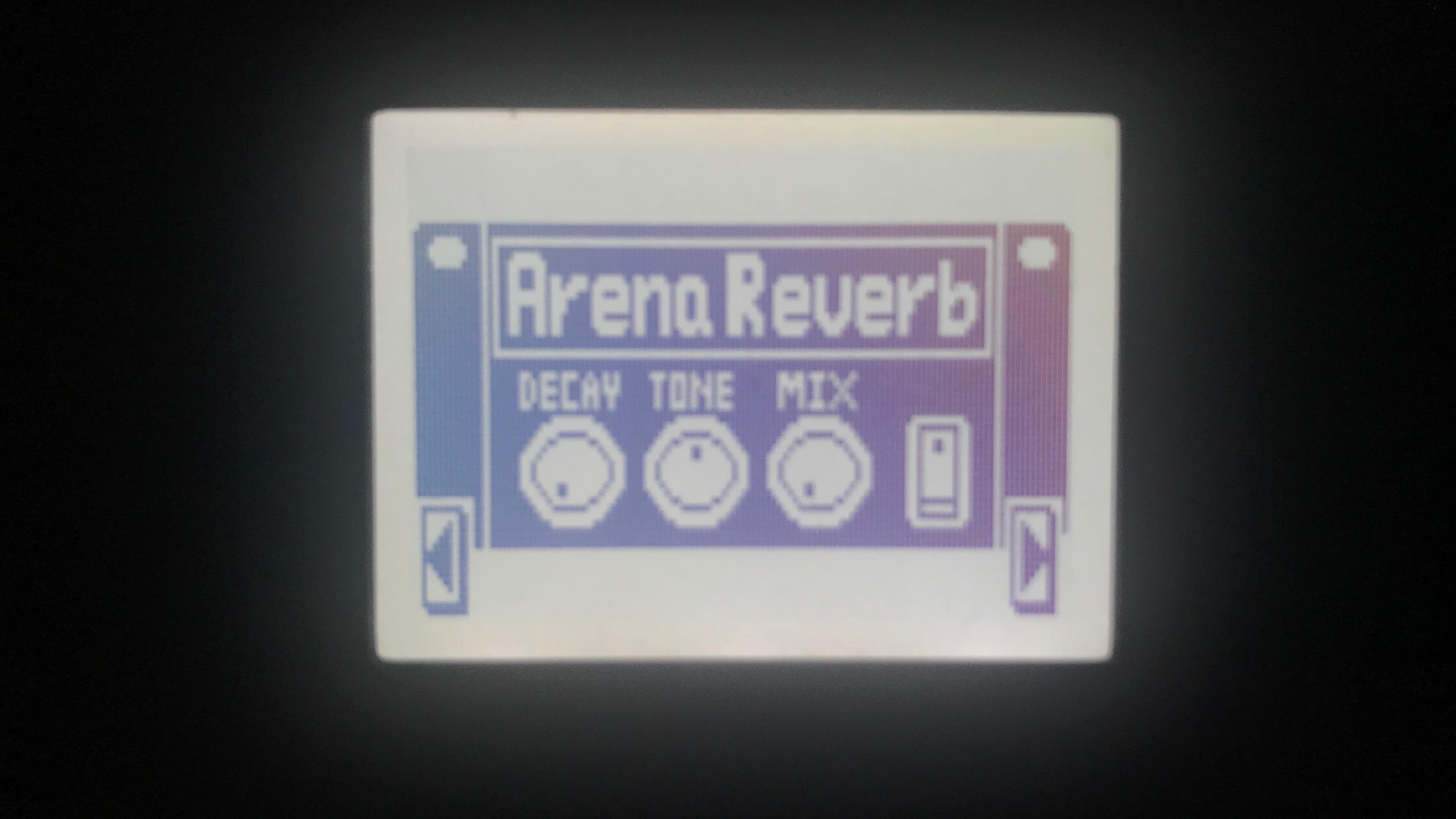 MS-60BのArena Reverb