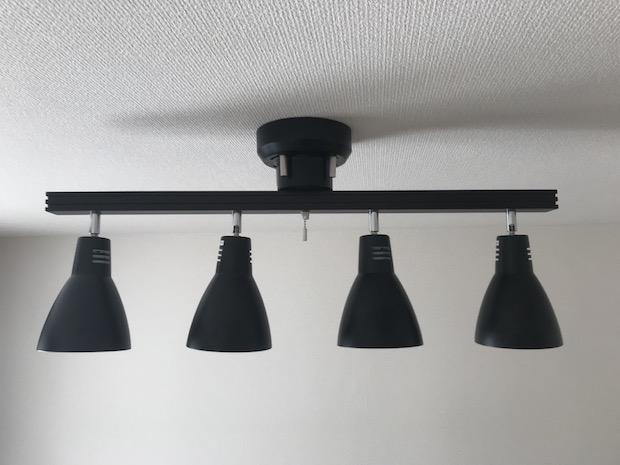 4灯スポットライト Eclairer