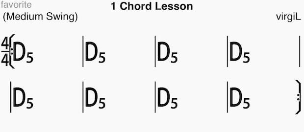 D5のコード譜
