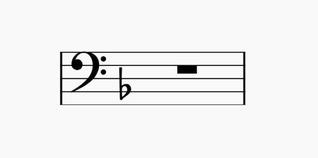 Key=Fの調号